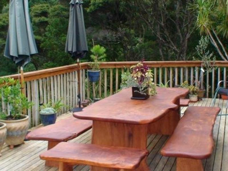 A perfect place for outdoor eating and relaxing