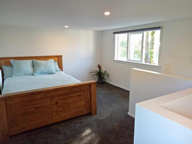 Bedroom – upstairs of the sleepout
