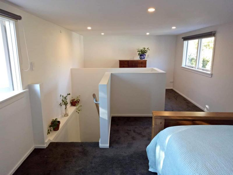 Bedroom – upstairs of the sleep out