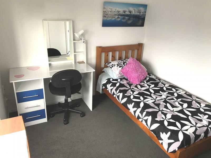 Fully furnished upstairs and downstairs bedroom available.