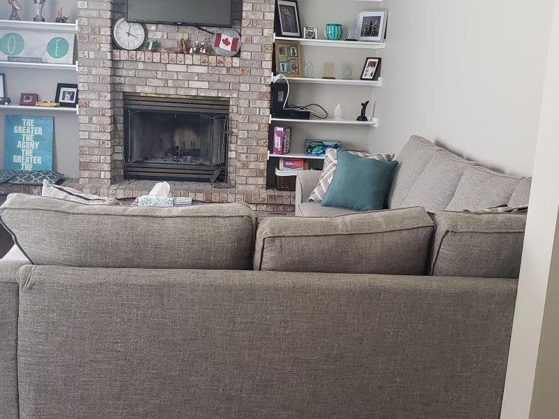 TV Room & Fireplace