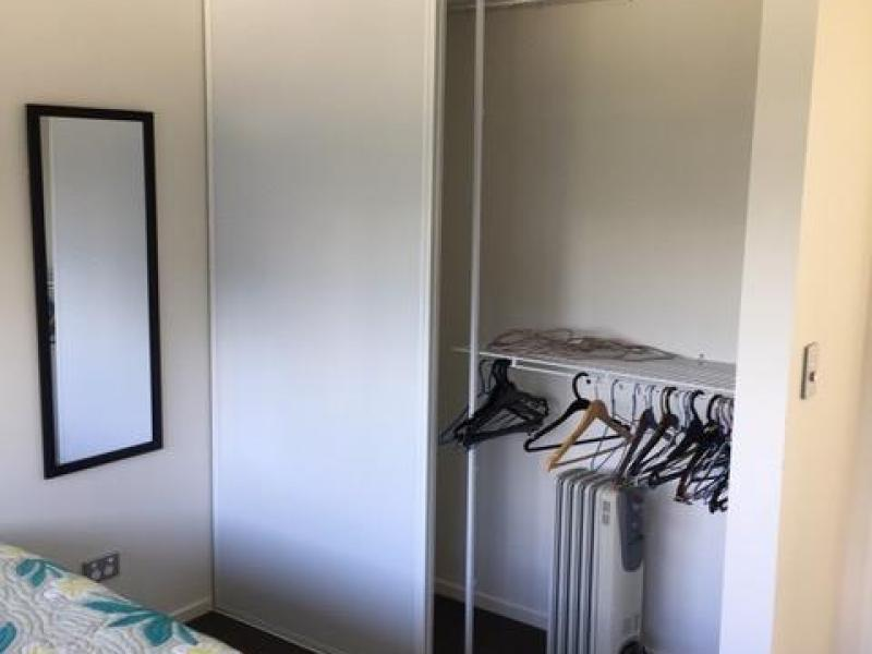 Bedroom with wardrobe