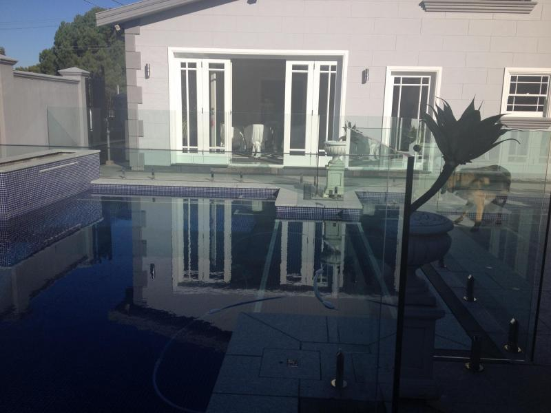 swimming pool to enjoy those hot summer days & night with a great BBQ