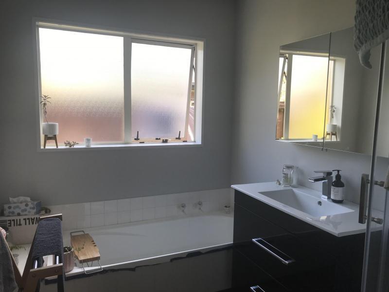 Bathroom - shower and seperate bath. New Vanity. Toilet in seperate room.