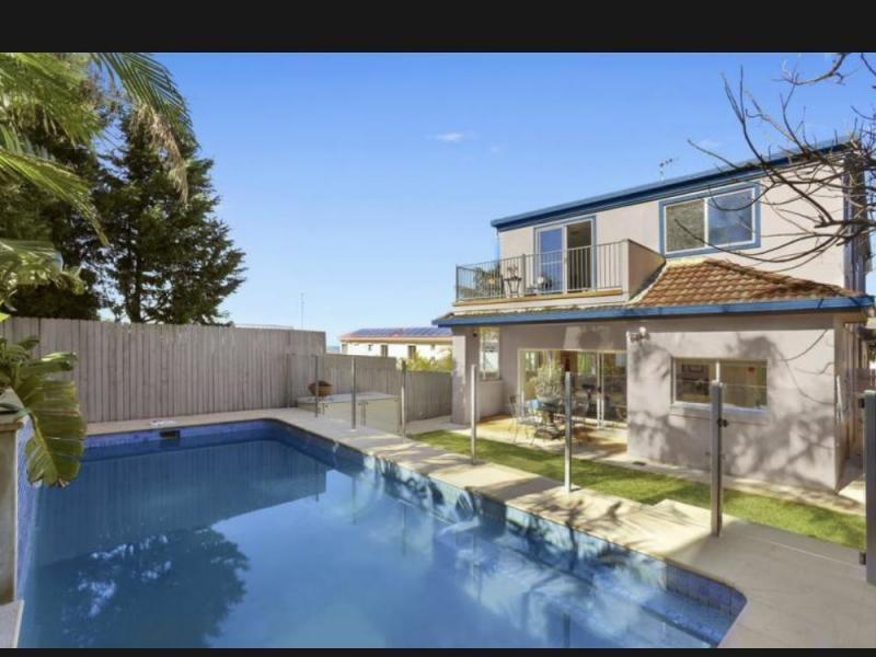 Pool and back yard