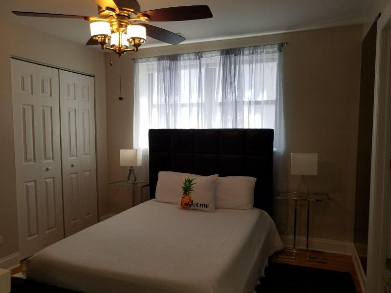 The rooms have double beds with new memory foam mattresses, good for living space and extra storage.