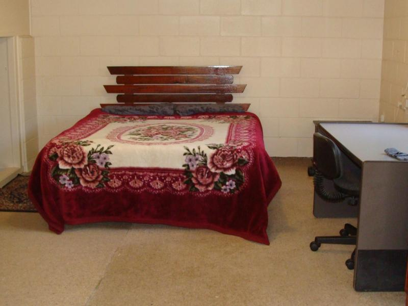 Extra large room, queen size bed, draws and study desk