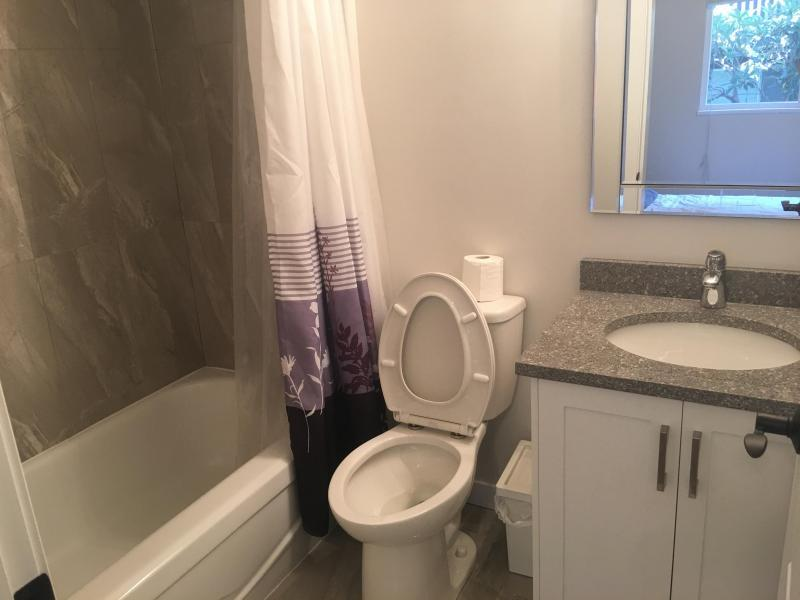 The private bathroom for the suite!