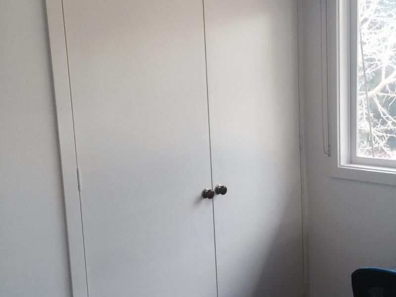 Built in wardrobe in bedroom