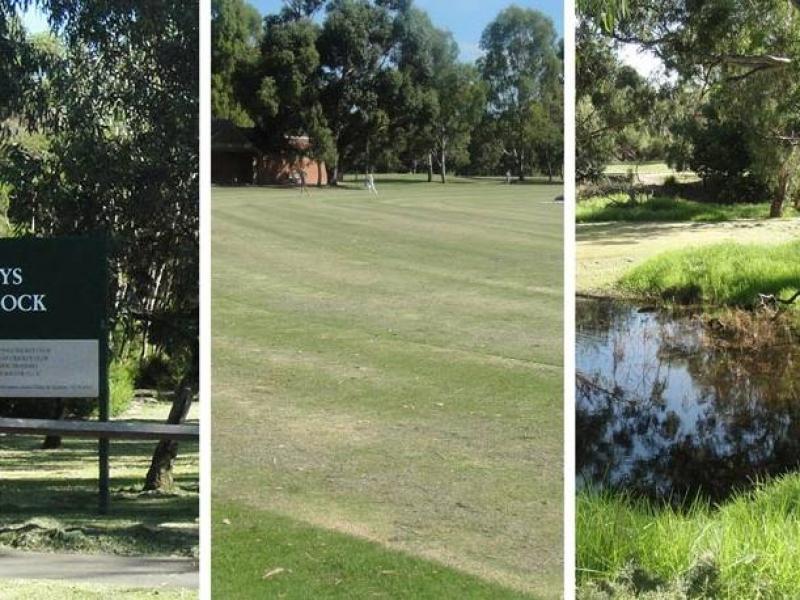 Park 5 min walk away - Hays Paddock