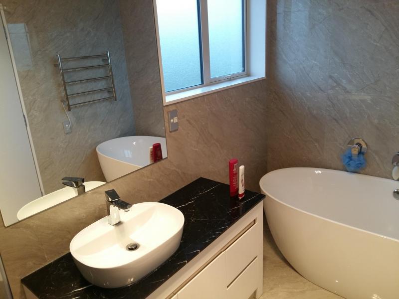 Seperate bathroom