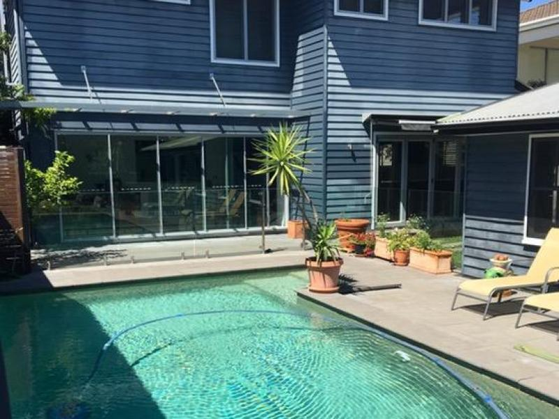 Pool & back of house