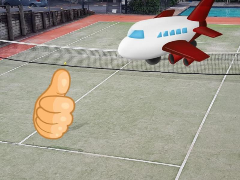 Tennis Court / Swimming Pool