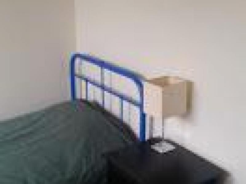 Bedroom available - bed can be updated on request